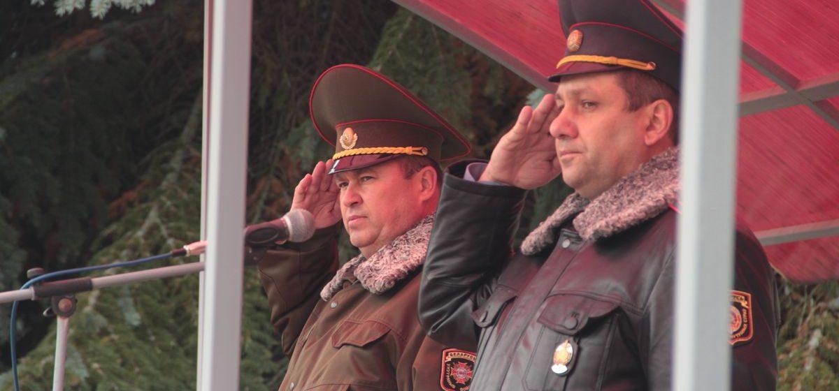 В Барановичах командир войсковой части 7404 ушел на заслуженный отдых