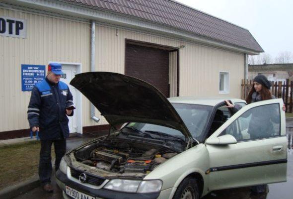 Машины, которые в Беларуси не прошли техосмотр, планируют отправлять на штрафстоянку