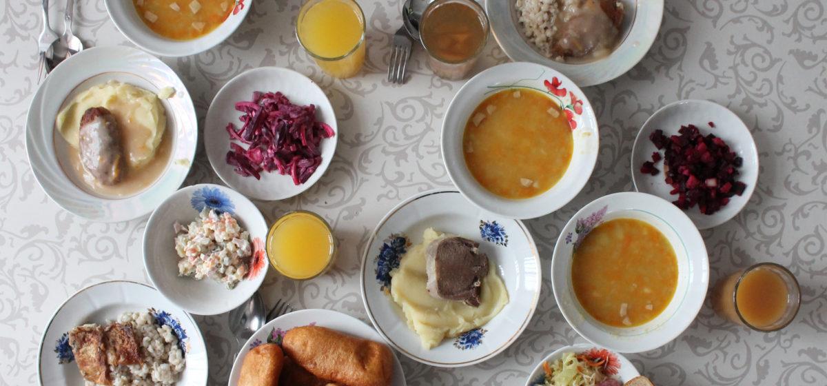 Фотофакт: Сколько едят задержанные в белорусских изоляторах временного содержания