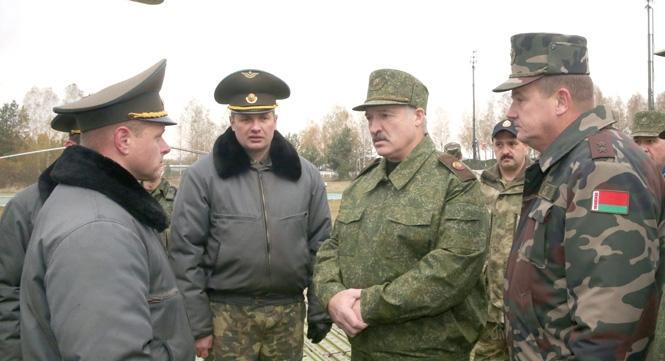 Лукашенко приехал в Барановичский район