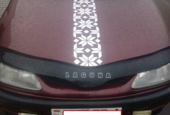 В Бресте из-за белорусского орнамента автомобиль не прошел техосмотр