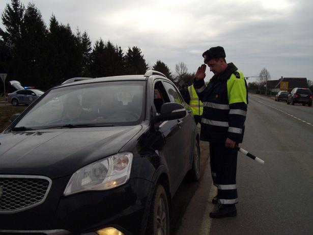 В Брестской области с 10 по 12 ноября ГАИ перешла на усиленный вариант несения службы