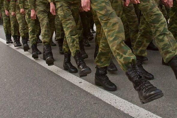 В Беларуси призывают на военную службу офицеров запаса