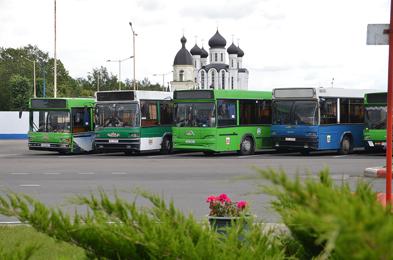 Барановичский автопарк сообщил, где в городе будут находиться остановки пригородных автобусов