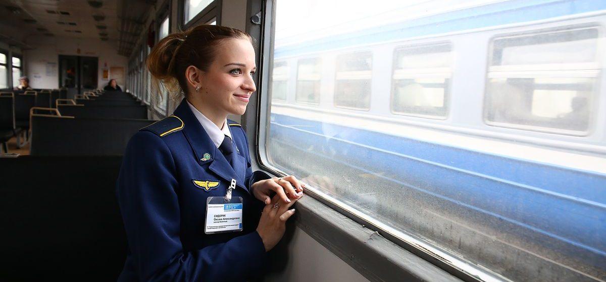Один день с «Мисс Грация БЖД», которая работает в Барановичах разъездным кассиром