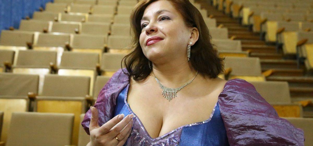 Оперная певица из Барановичей рассказала о том, как собирается лечить людей пением