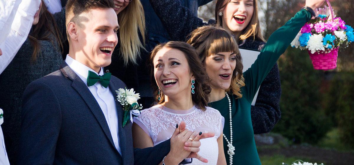 Свадебная пара недели: Андрей и Анастасия
