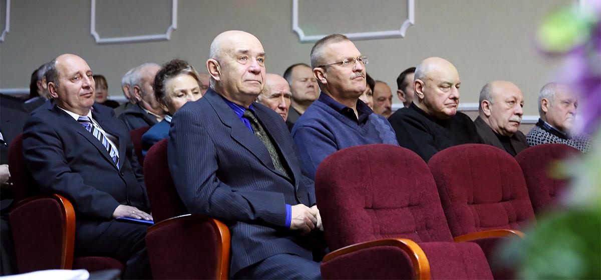 В Барановичах прошло чествование ветеранов войсковой части 7404
