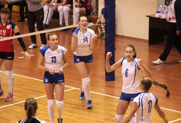 Волейболистки «Атланта» I тур полуфинального этапа проведут в Барановичах