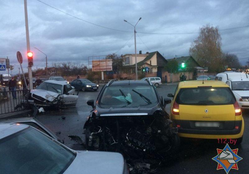 Какие травмы получили участники ДТП на улице Тельмана в Барановичах