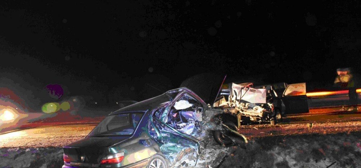 Два жителя Барановичей пострадали в лобовом ДТП в Гродненской области