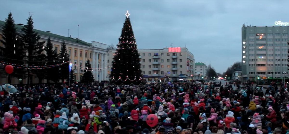 Главную елку в Барановичах откроют 17 декабря
