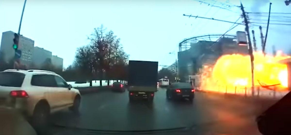 При взрыве у Московского метро пострадала белоруска