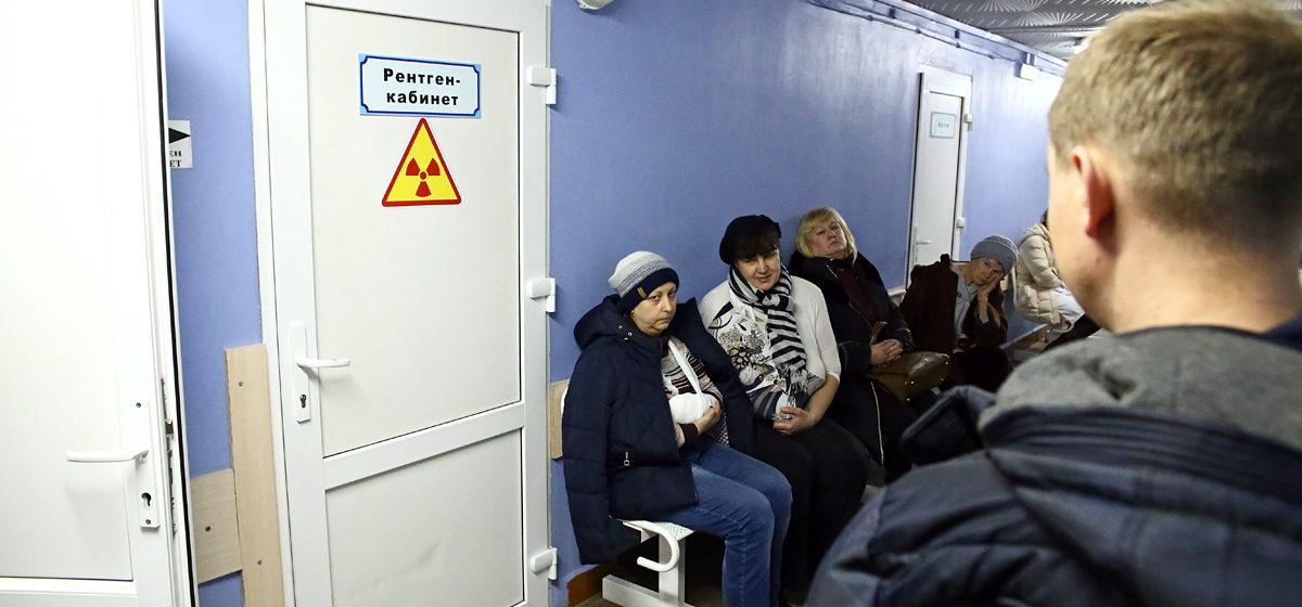 В центре Барановичей 24 марта можно сделать флюорографию