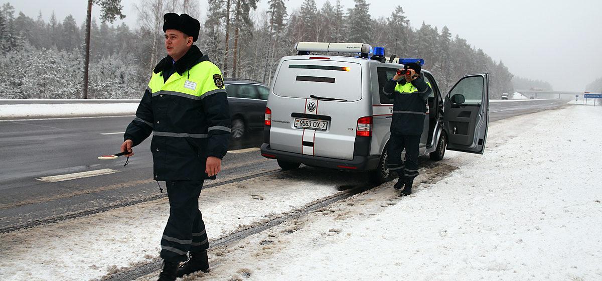 Как ловят нарушителей на платных дорогах Барановичского района