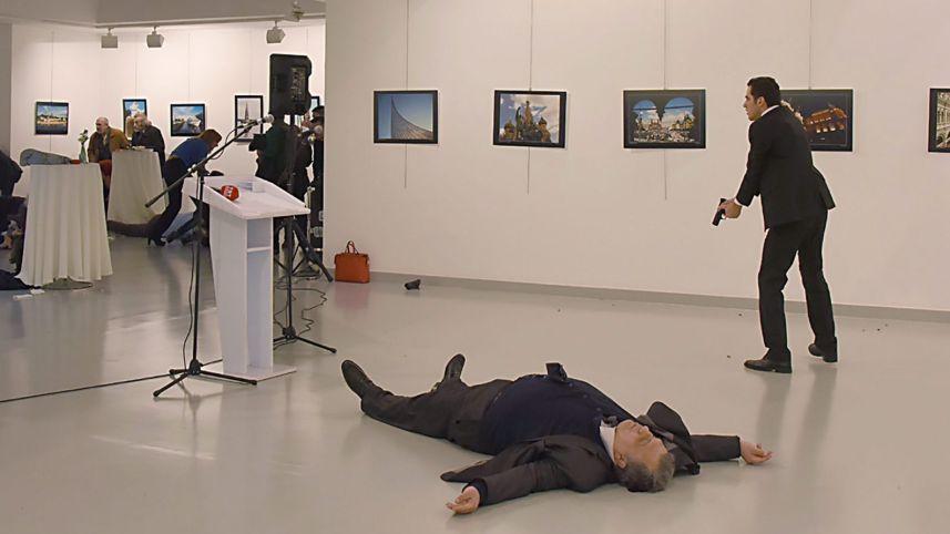 Подробности убийства российского посла в Турции