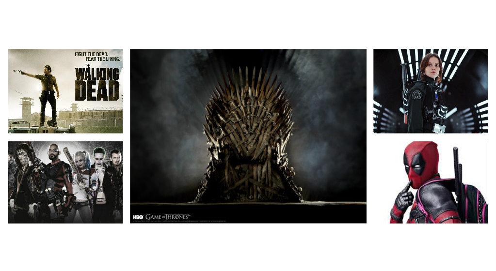 Twitter выбрал тройку самых популярных фильмов и сериалов 2016 года