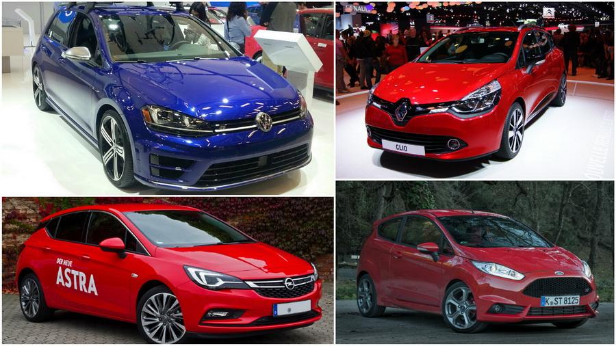 Назвали ТОП-5 самых популярных автомобилей в Европе