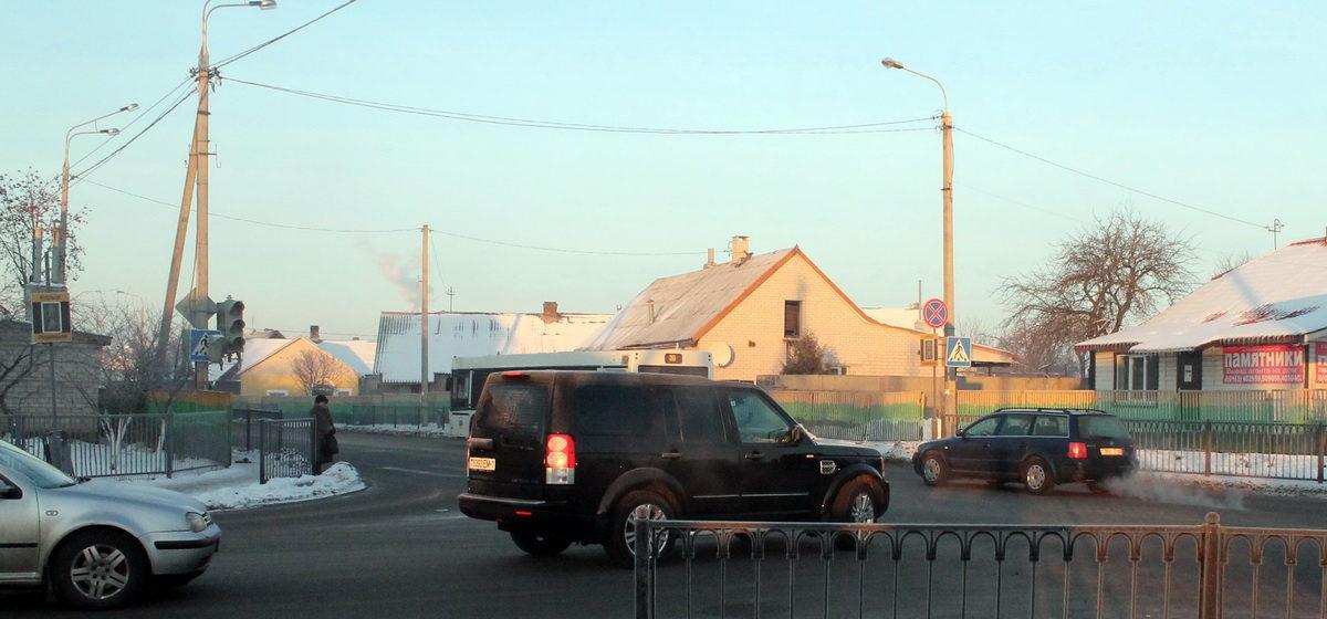 Фотофакт: В Барановичах на улице Тельмана второй день не работают светофоры