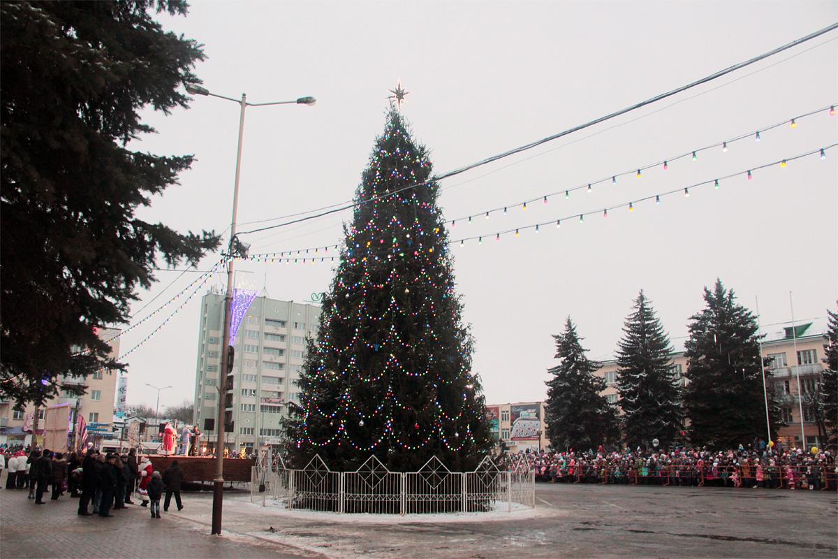 пинципе, фото городской новогодней елки в г мелеуз гладкая дорога