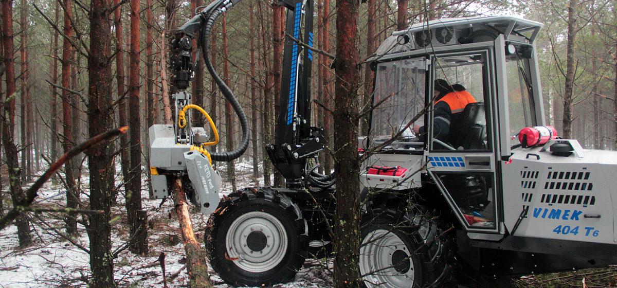 Барановичский  лесхоз приобрел новую технику