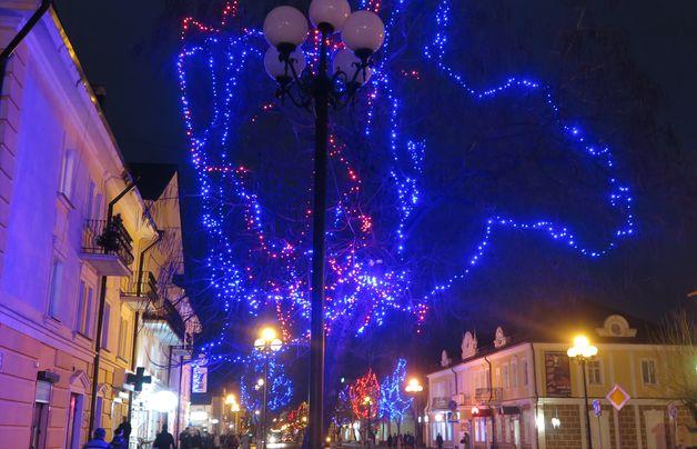 В Беларуси 26 декабря отключат праздничную иллюминацию