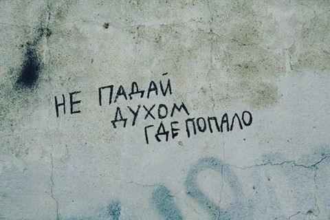 Умные мысли, написанные на стенах и заборах
