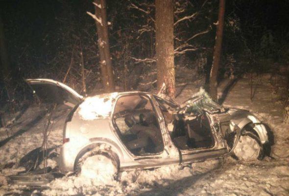 В ДТП под Минском погибла женщина, пострадали трое детей