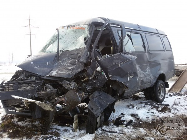 Под Молодечно столкнулись четыре машины, один водитель погиб