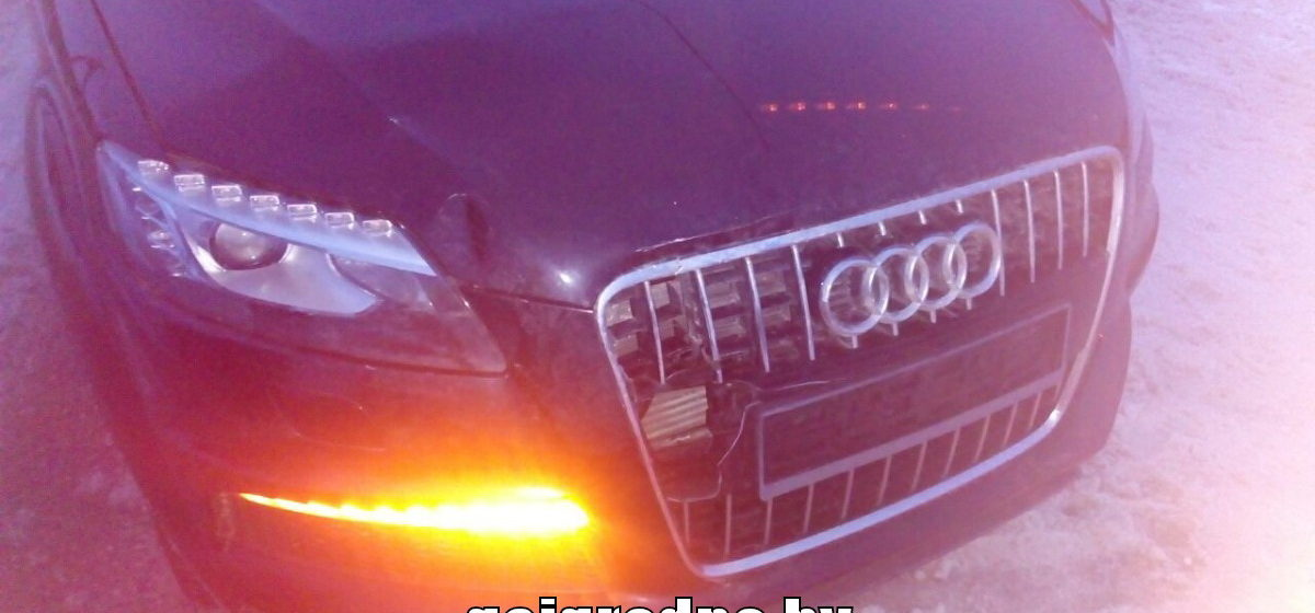 В Гродненской области Audi сбила третьеклассницу: девочка в реанимации