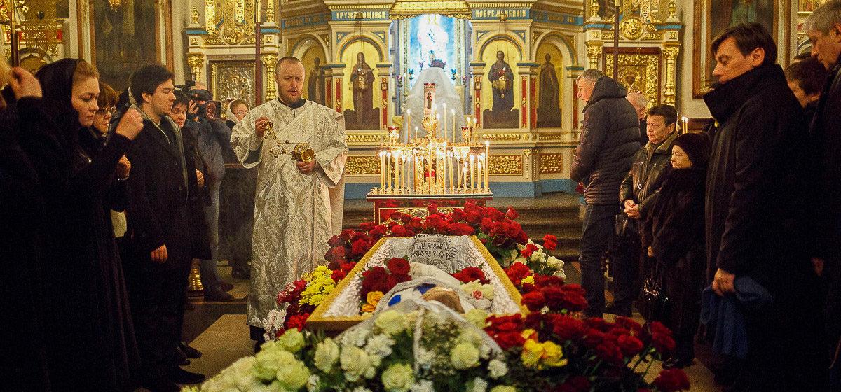В Беларуси прощаются с народным артистом Александром Тихановичем (фото)