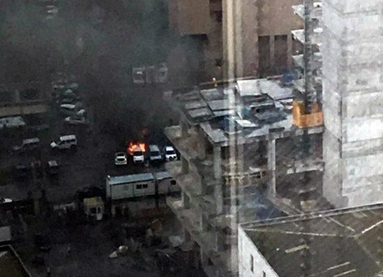 В турецком городе Измир у здания суда прогремел взрыв