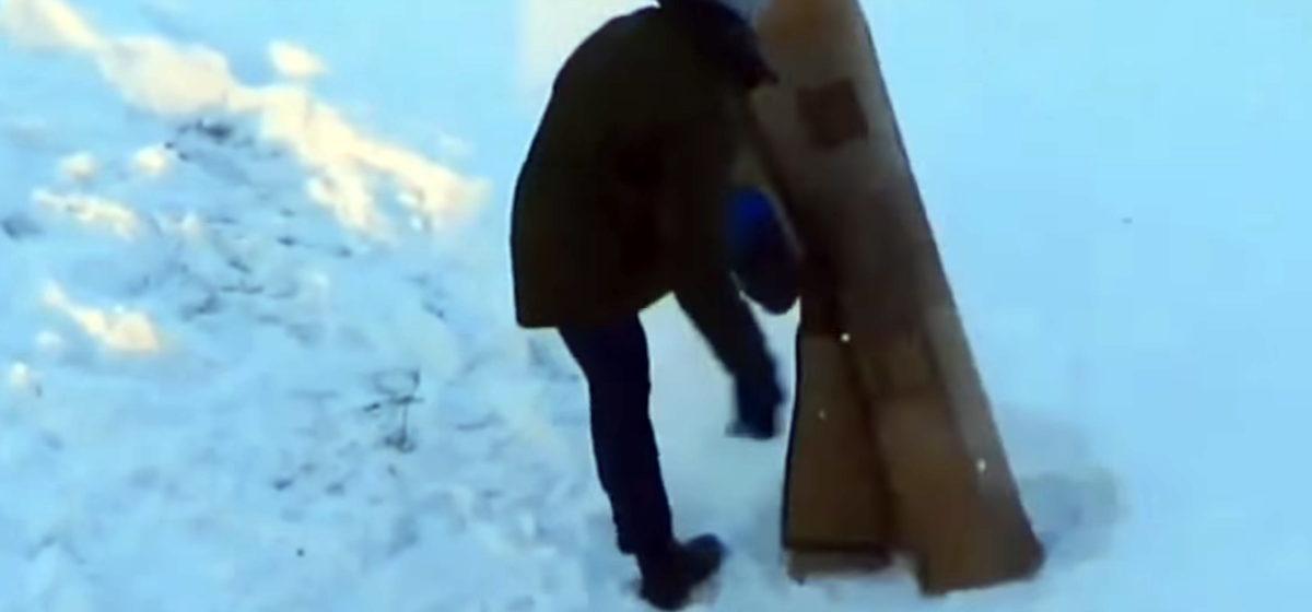 Видеоролик, как белорус борется с ковром, стал интернет-хитом