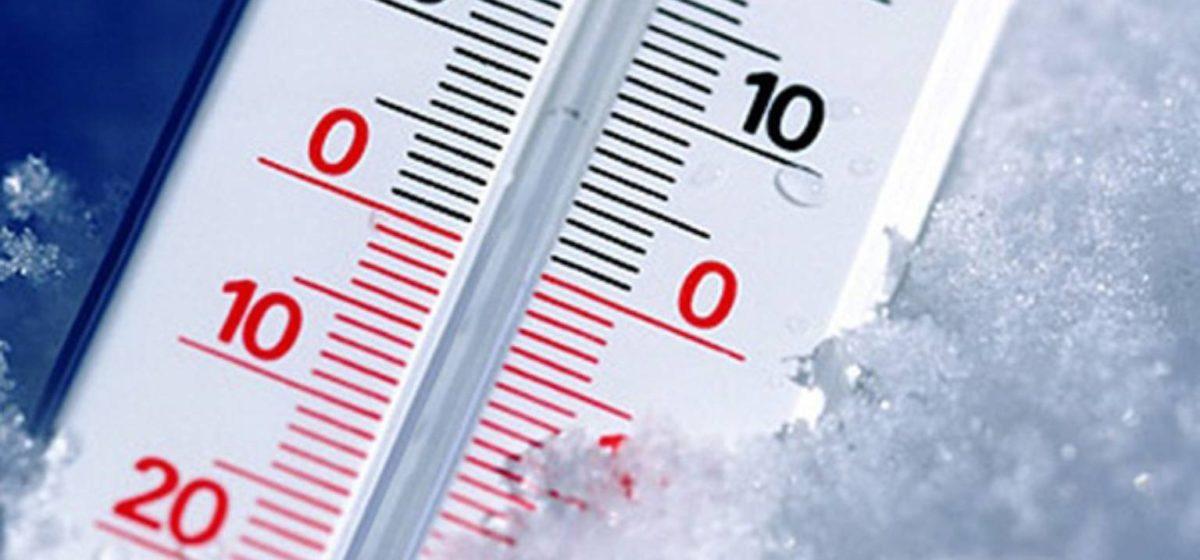 В Барановичах с 26 января резко похолодает