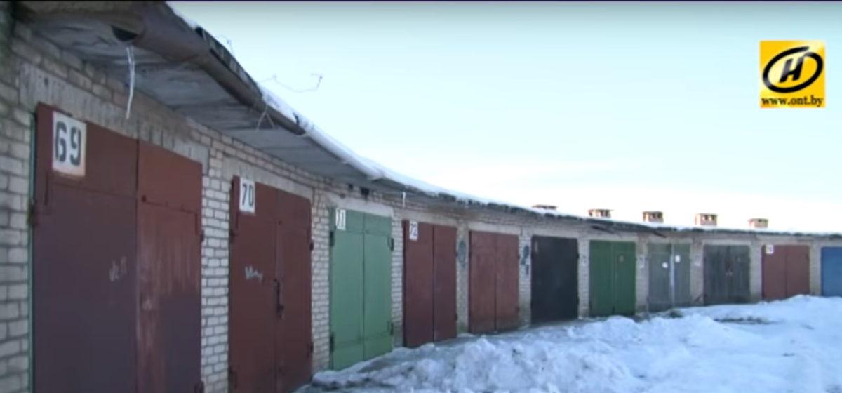По ОНТ показали, как отключают свет в гаражных массивах Барановичей
