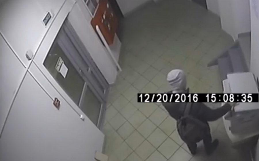 В Минске вор вынес «буквально все» из туалета в офисном здании
