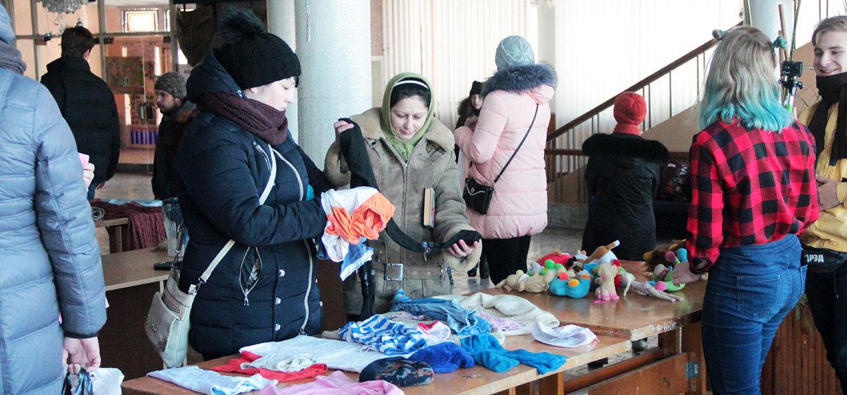 В Барановичах прошла бесплатная ярмарка
