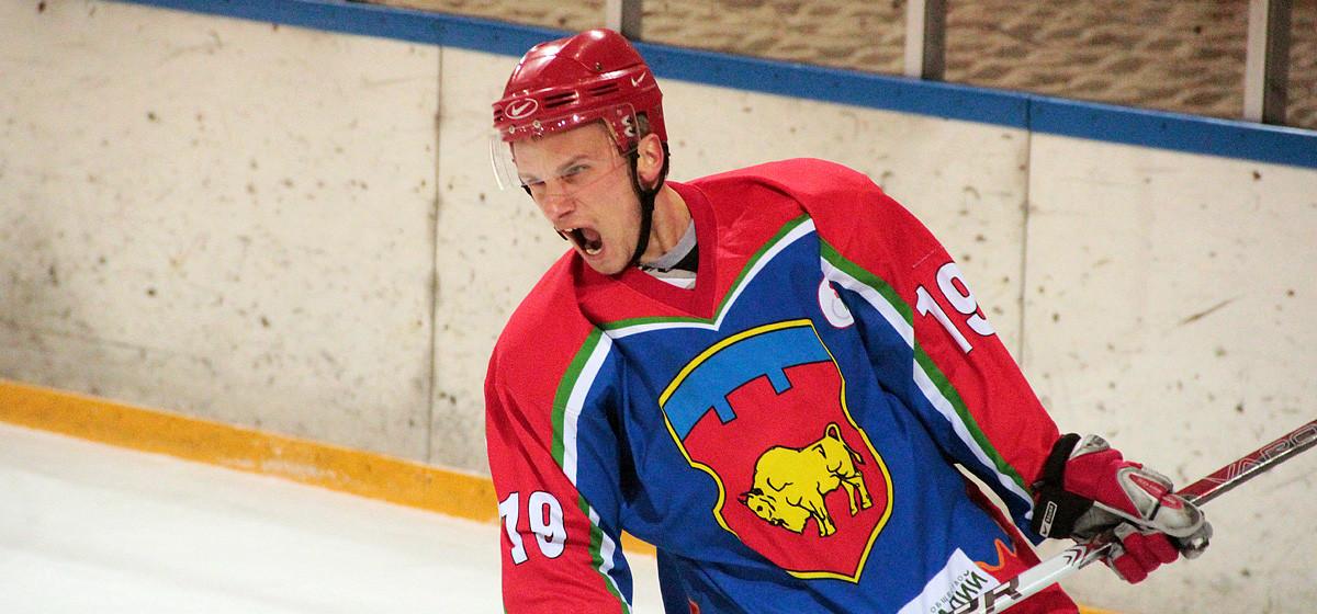 Две шайбы барановичского хоккеиста помогли одержать победу сборной Брестской области в матче турнира на призы Президентского клуба