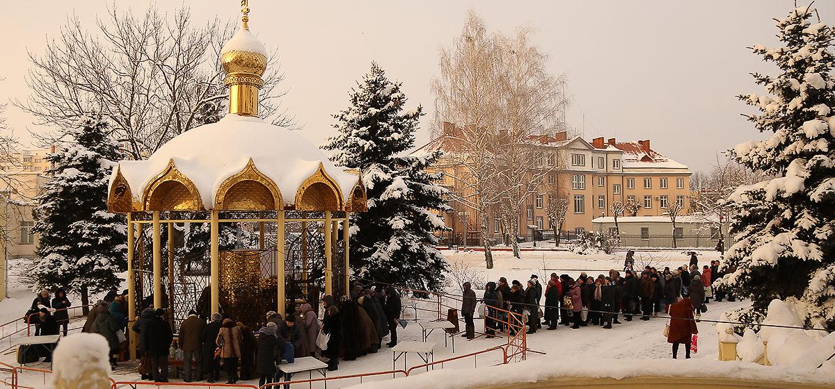 Фотофакт: Праздник Крещения в Барановичах