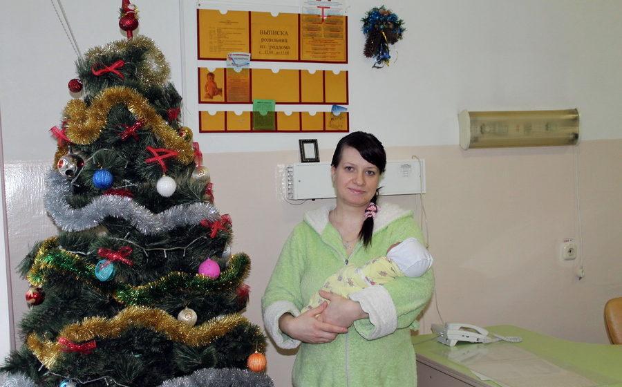 В первый день нового года в Барановичах родилось восемь детей