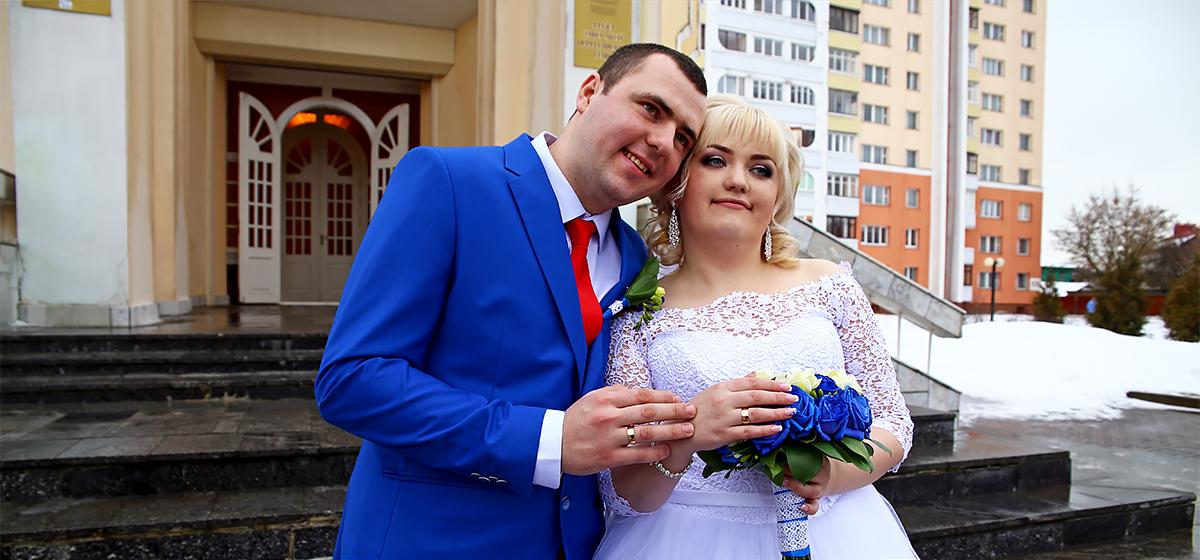Свадебная пара недели: Ирина и Владимир