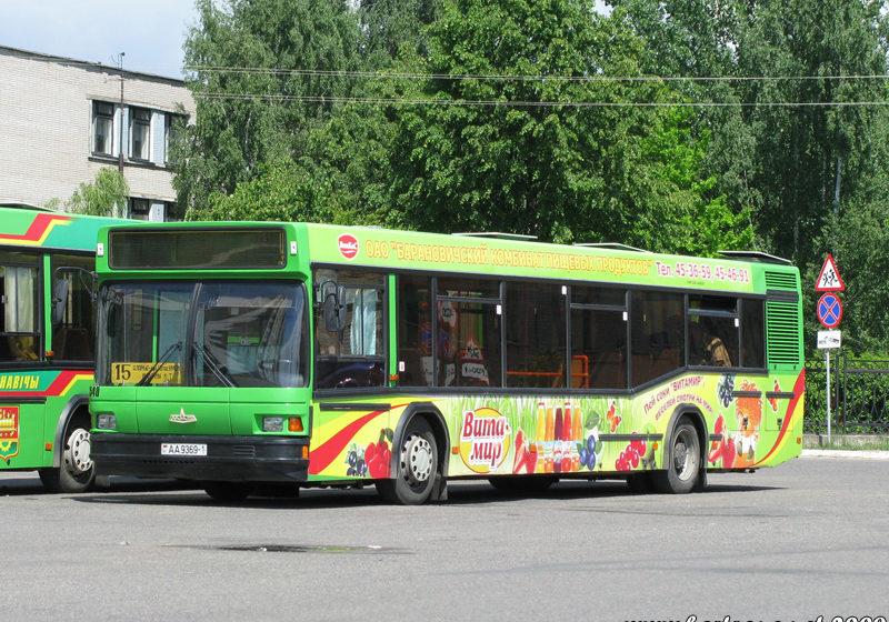 Барановичский автопарк предлагает выбрать варианты движения автобусов в Боровках