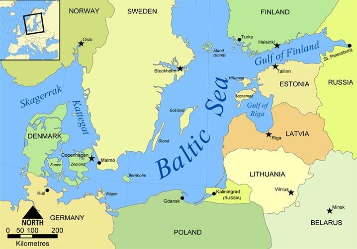ООН сменила статус Латвии, Эстонии и Литвы с «Восточной Европы» на «Северную»