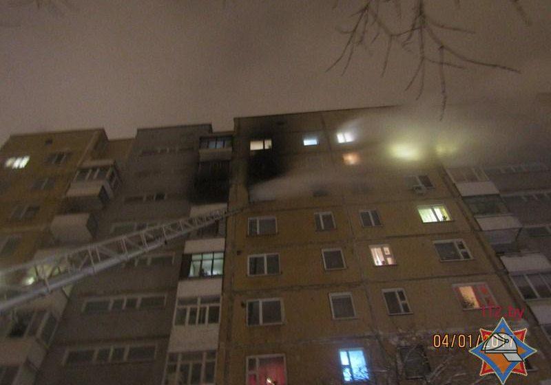В Витебске горела многоэтажка — 7 человек спасли еще 11 эвакуировали