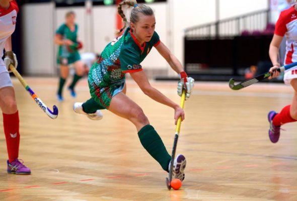 Барановичская хоккеистка Наталья Штин завоевала серебро чемпионата Европы по индорхоккею