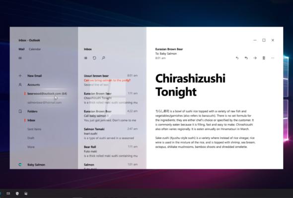 В интернете появились изображения нового дизайна Windows 10