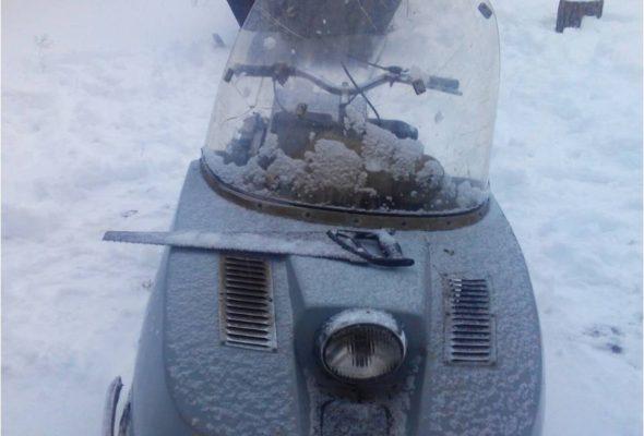 Украинец на снегоходе прорвался через белорусскую границу