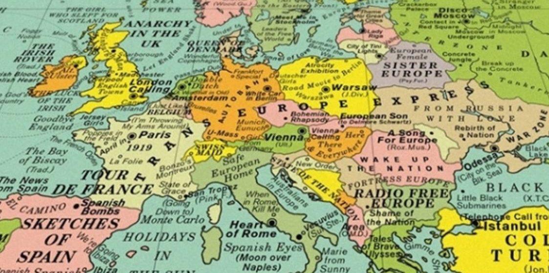 Англичане создали карту мира, на которой Беларусь названа «сестрой Европы»