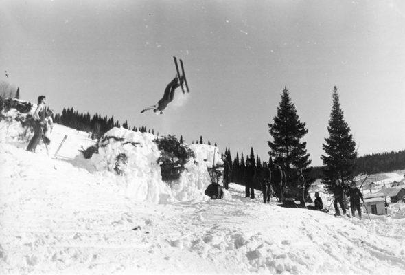 Во время выполнения сальто в Силичах разбился любитель-лыжник