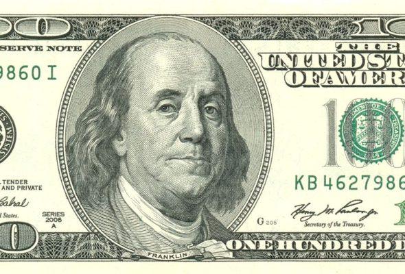 В Барановичах изъяли фальшивые 100 долларов